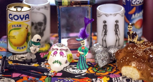 Misc items from the Mutter Museum Day of the Dead event, 10/31/15