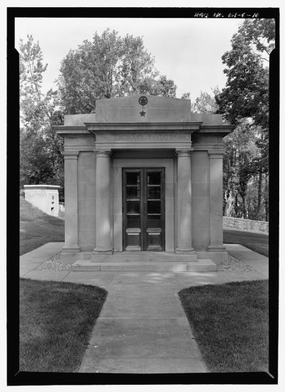 Image of Zachary Taylor's Mausoleum, Library of Congress, HALS KY-6