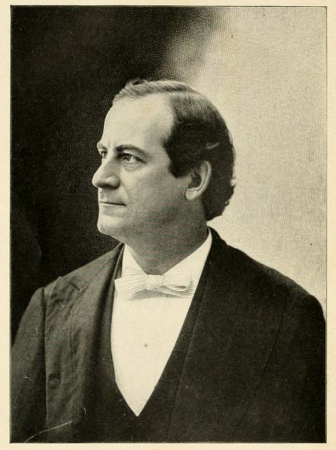 1896 Photograph of Democratic/Populist Presidential Candidate William Jennings Bryan