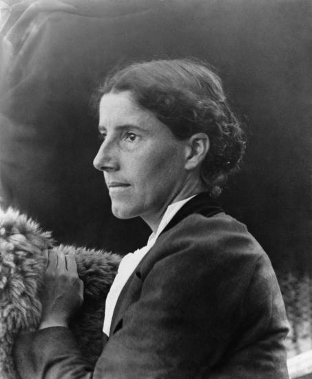 Photo of Charlotte Perkins Gilman (1860-1935)