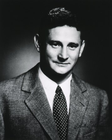 Albert Kligman in 1955. Image Source: National Library of Medicine; used under Fair Use