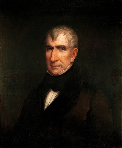 James Reid Lambdin's Presidential portrait of William Henry Harrison