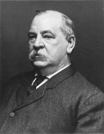 Portrait of Grover Cleveland, 22nd and 24th President of the United States