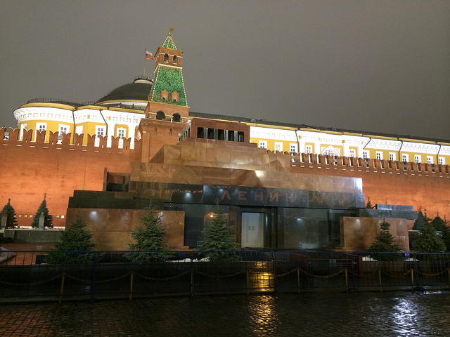 Lenin's Mausoleum in Red Square