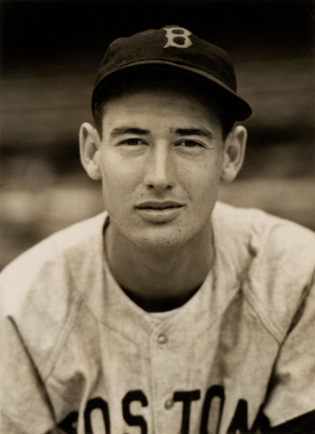 Photograph of Ted Williams from 1939